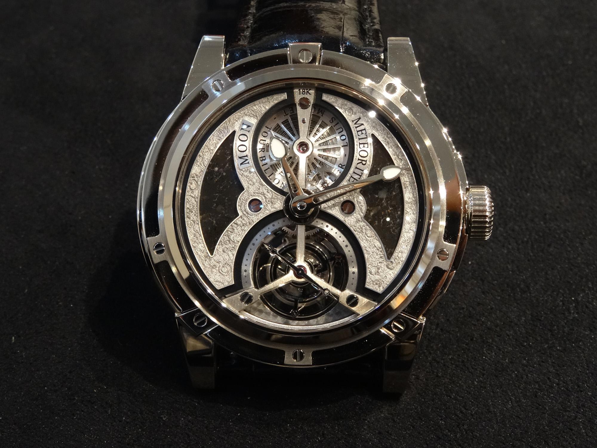 Louis Moinet Astrolabe Tourbillon - Moon Meteorite Edition