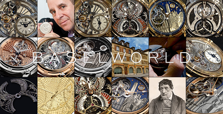 Louis Moinet Baselworld 2014 - As discreet as amazing!