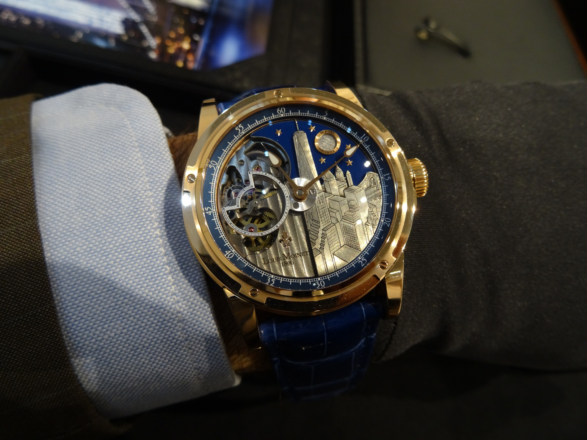 Louis moinet baselworld 2014 as discreet as amazing for Louis moinet watch