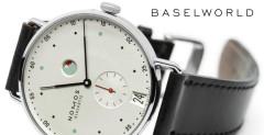 Nomos Metro Datum Gangreserve - Baselworld 2014