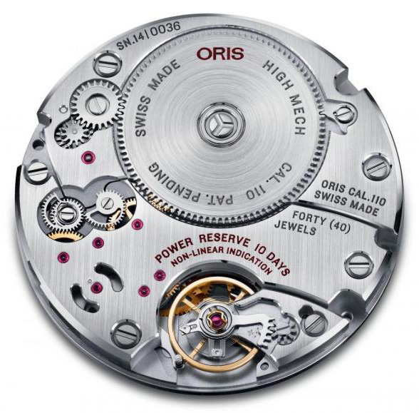 Oris Calibre 110 - First Oris In-House Movement