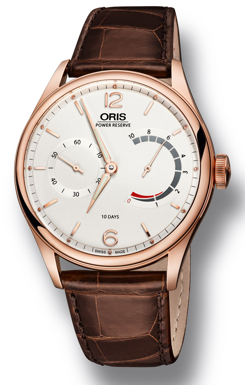 Oris Calibre 110 Watch in Gold