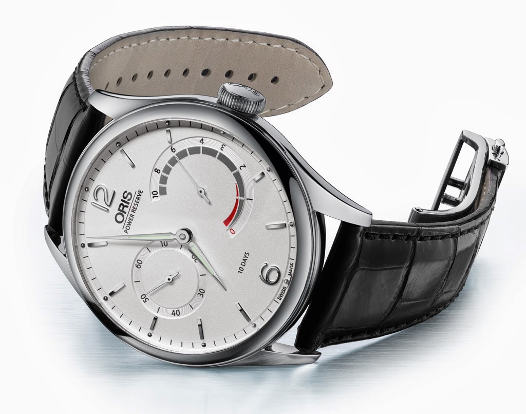 Oris Calibre 110 Watch in Steel