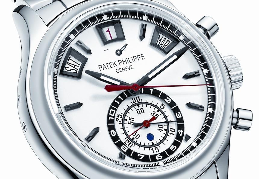 Patek Philippe 5960/1A Annual Calendar Chronograph - Dial
