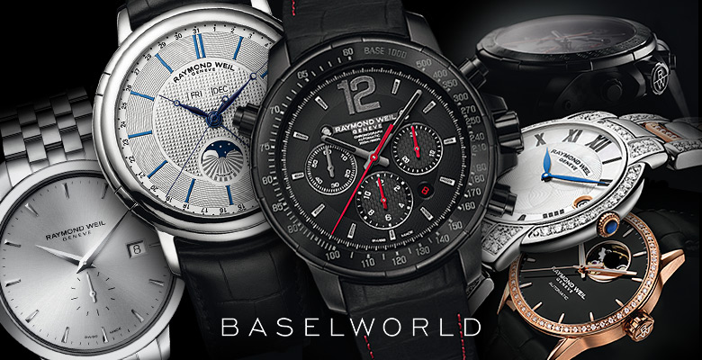 Raymond Weil Collection Baselworld 2014 - The legacy continues...