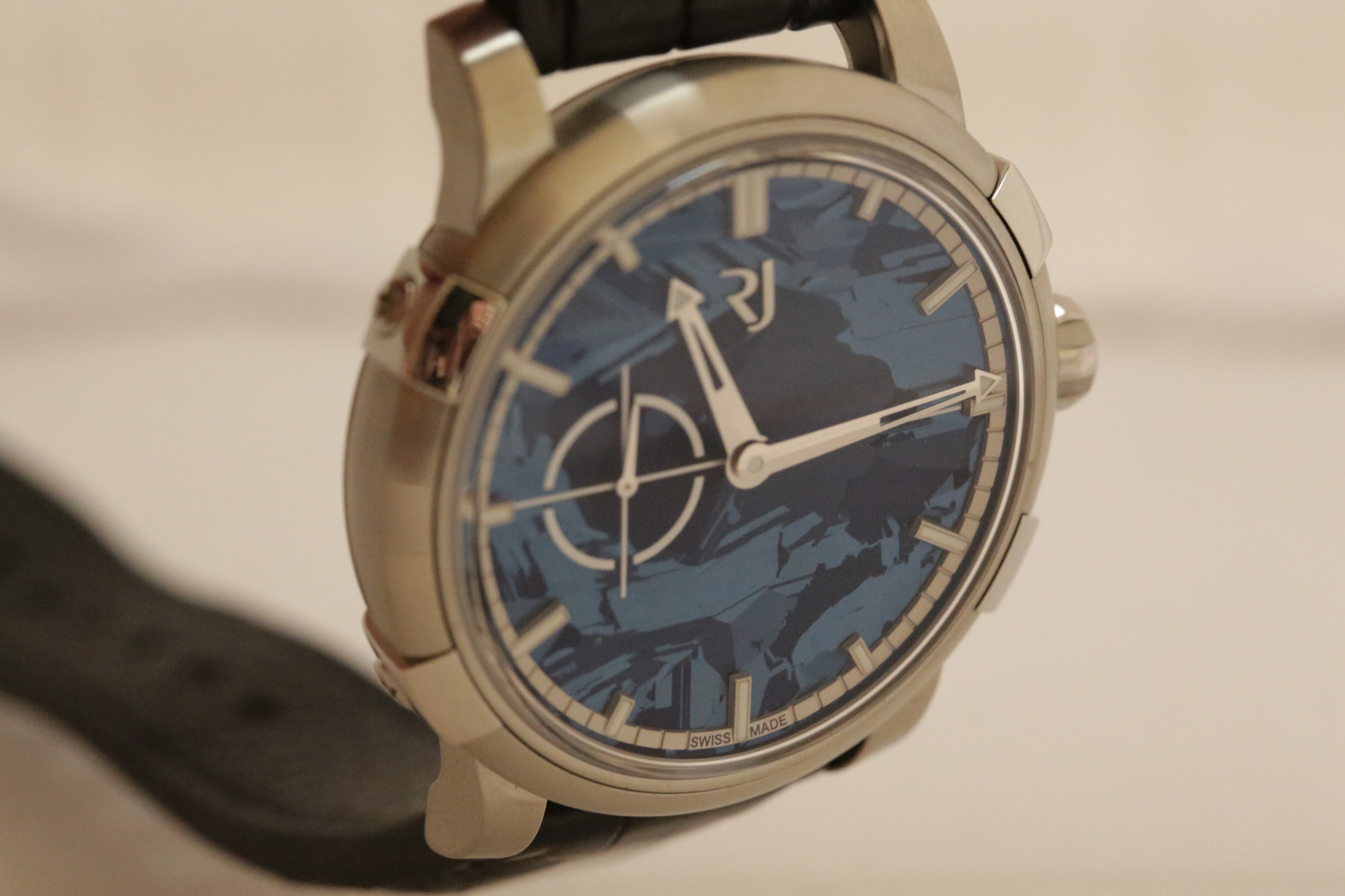 RJ-Romain Jerome 1969 Heavy Metal Blue Silicium - Dial
