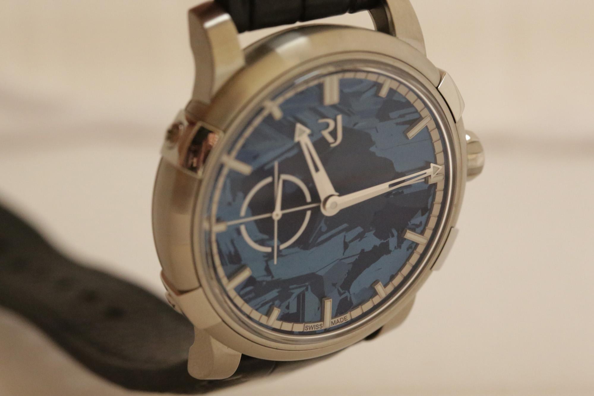 RJ-Romain Jerome 1969 Heavy Metal Blue Silicium - Dial
