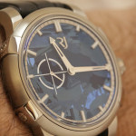 RJ-Romain Jerome 1969 Heavy Metal Blue Silicium