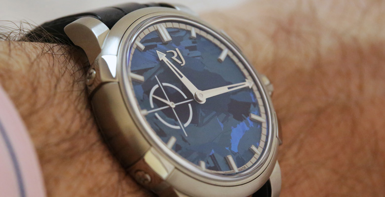 Hands-on with RJ-Romain Jerome 1969 Heavy Metal Blue Silicium