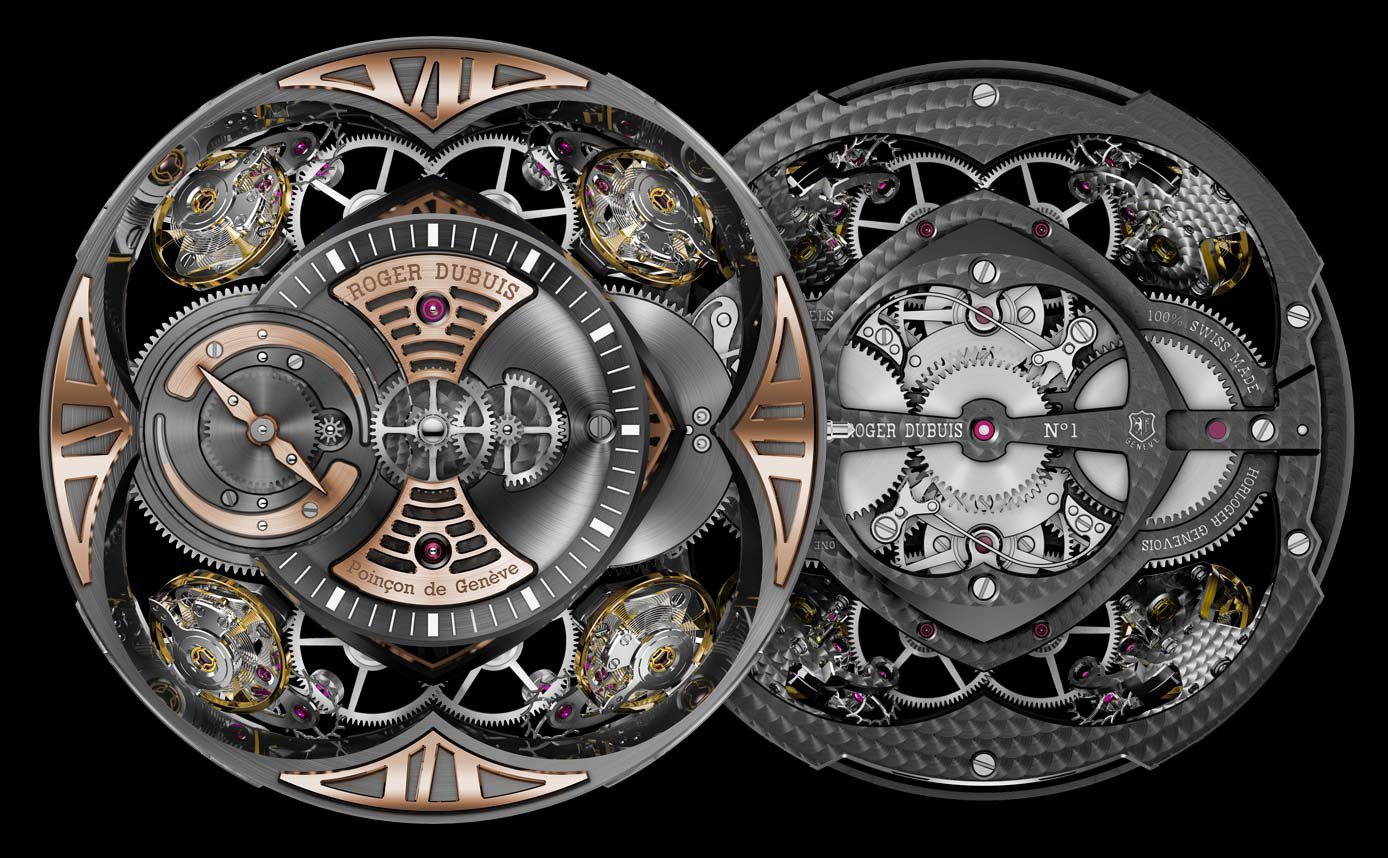 Roger Dubuis - Quatuor Watch Movement