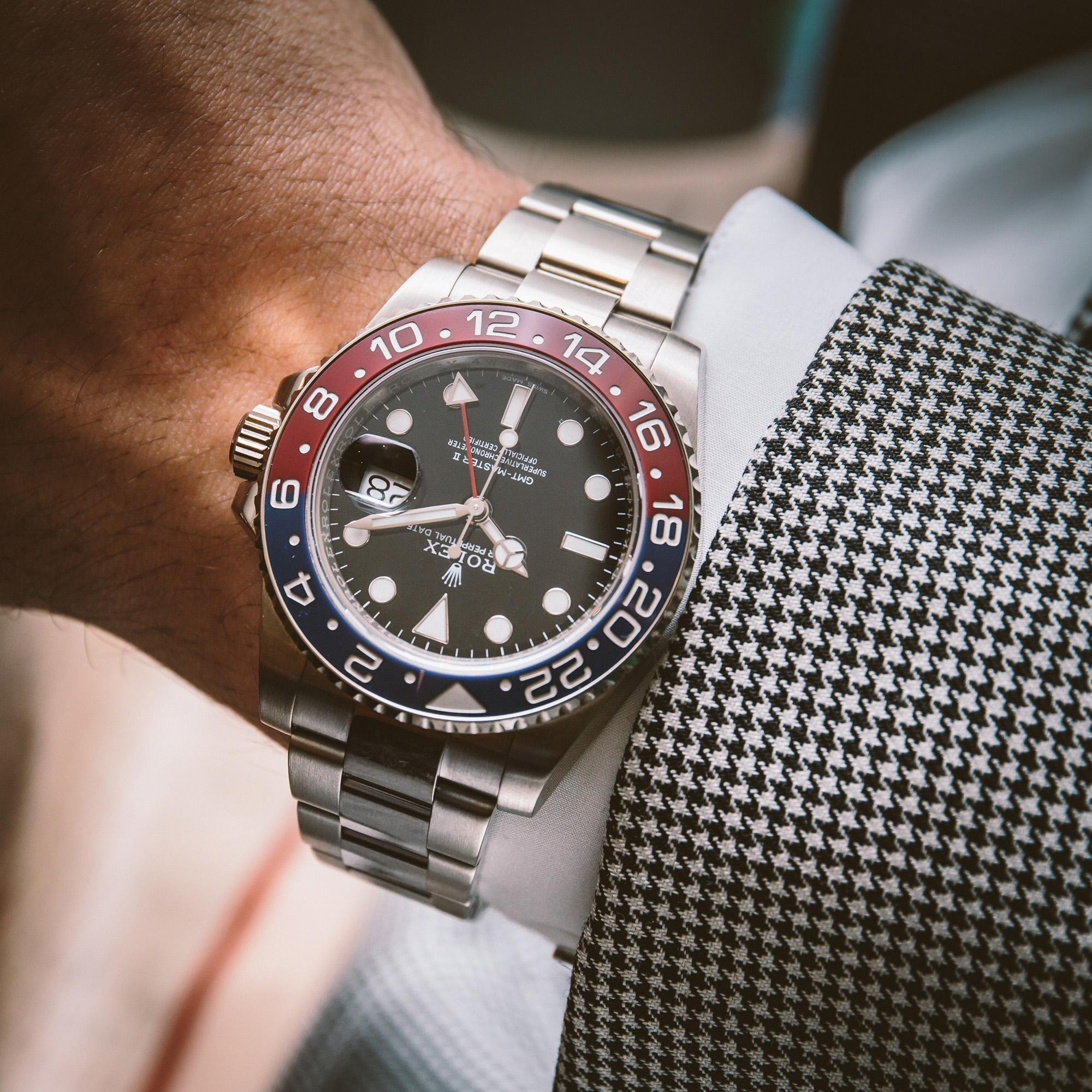 Rolex GMT-Master II - Ref. 116719BLRO - Wristshot