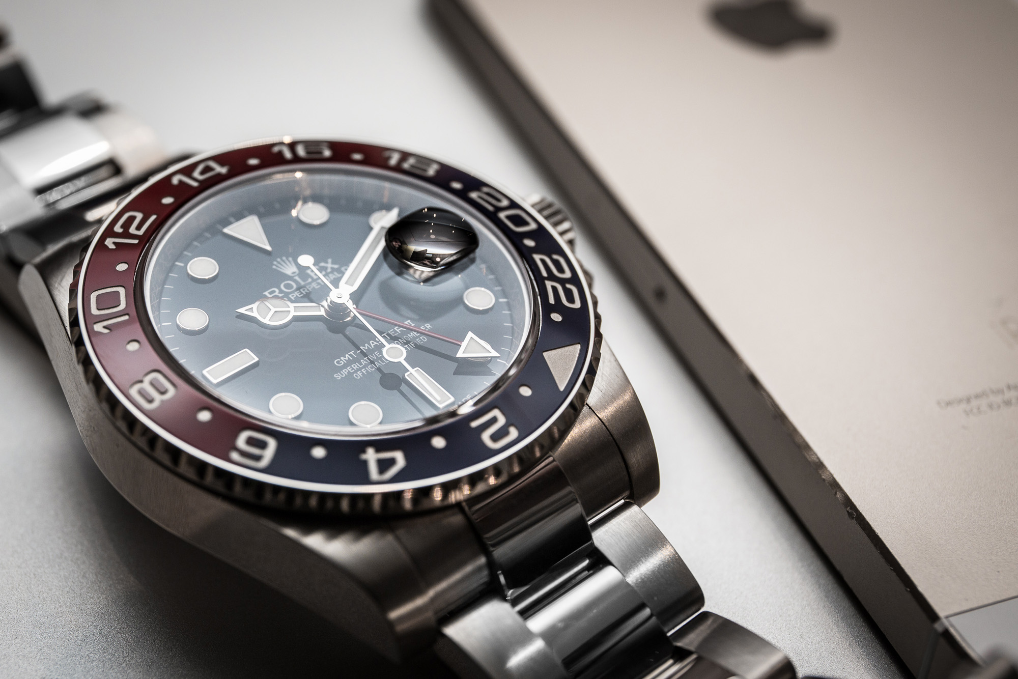 Rolex GMT-Master II - Ref. 116719BLRO