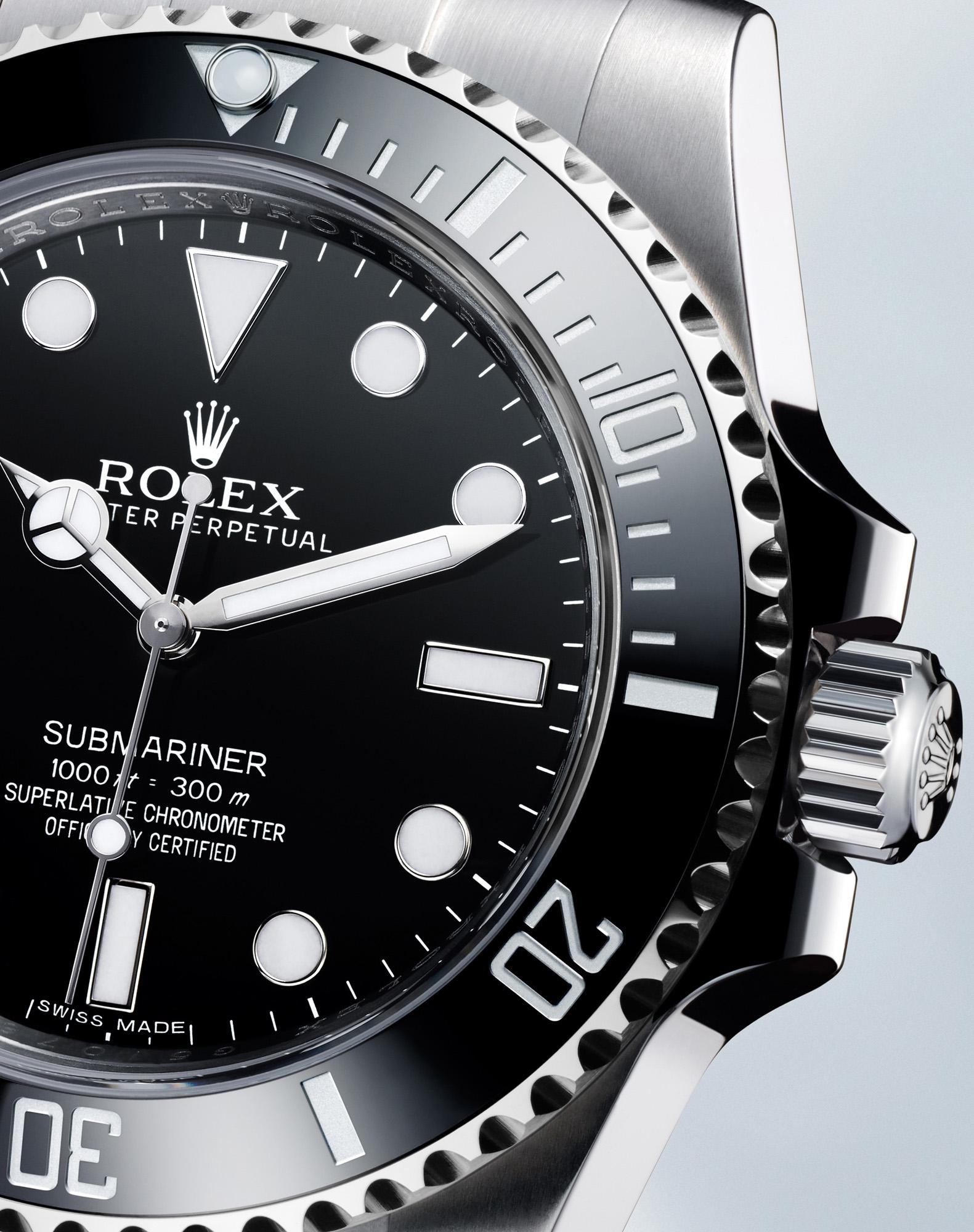 Rolex Submariner Ref. 114060 - Bezel