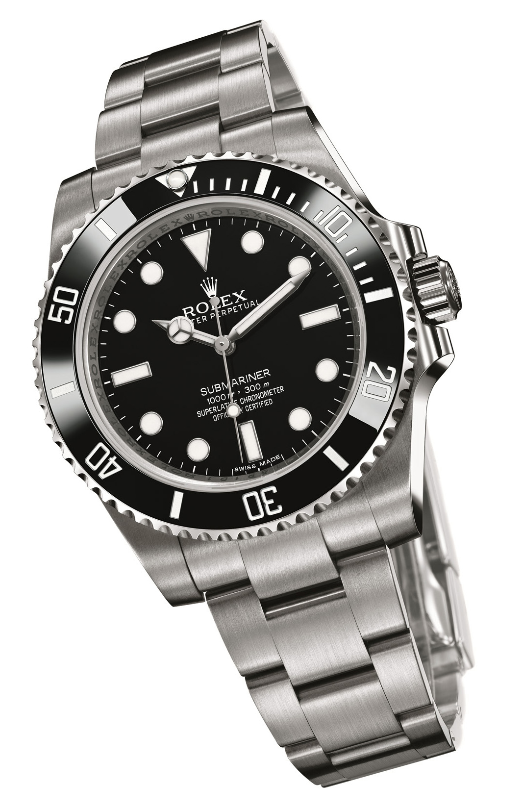 Rolex submariner ref 114060 no date for Submarine watches
