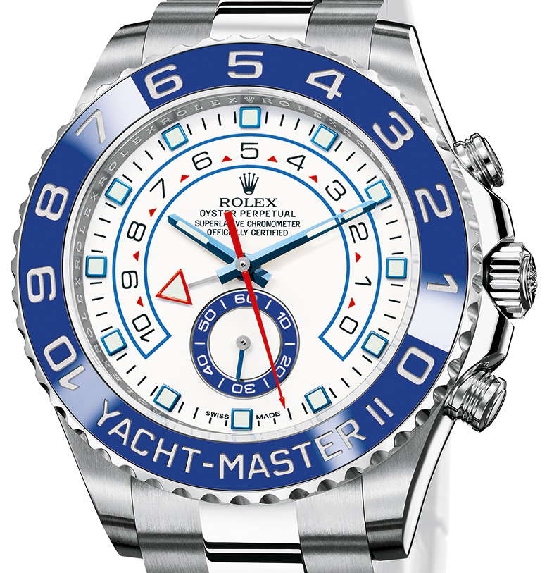 Rolex Yacht-Master II (Ref. 116680) - Dial