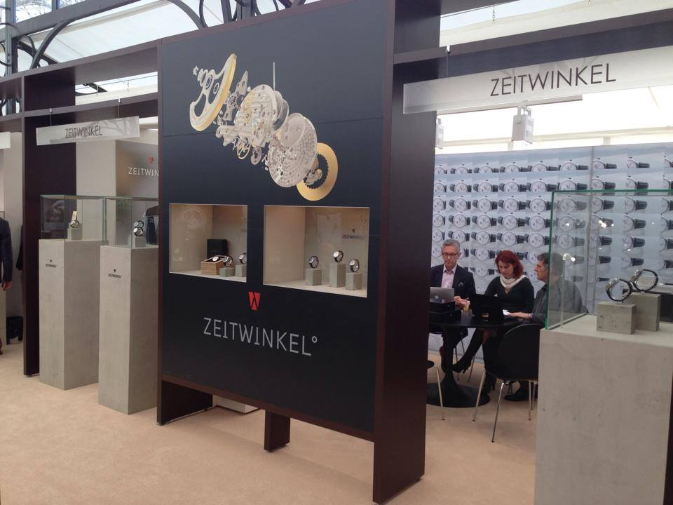 Zeitwinkel Kiosk at Baselworld 2014