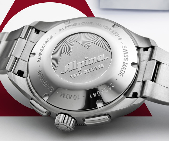 Alpina Alpiner 4 Chronograph - Caseback