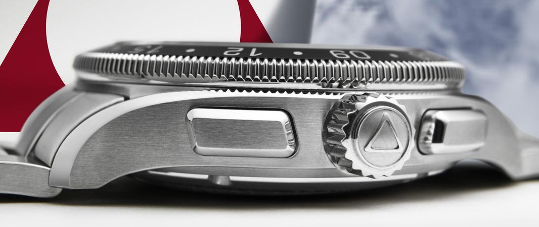 Alpina Alpiner 4 Chronograph - Pushers & Crown