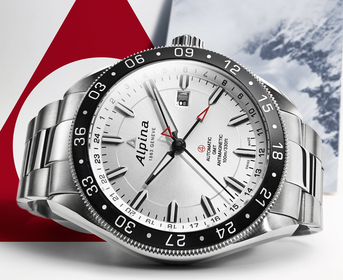 Alpina Alpiner4 GMT - Baselworld 2014