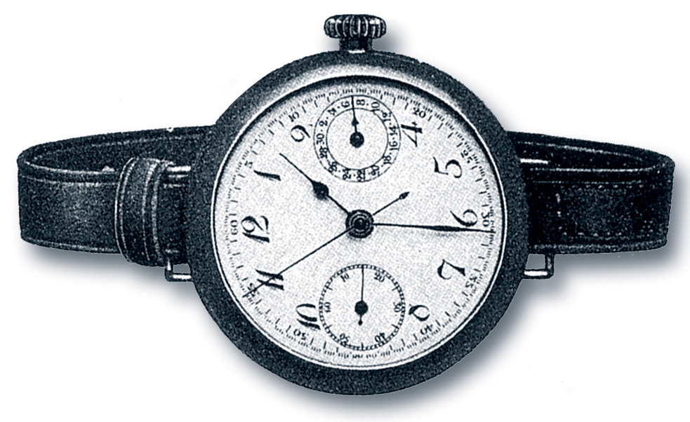 Breitling first Wrist Chronograph (1915)