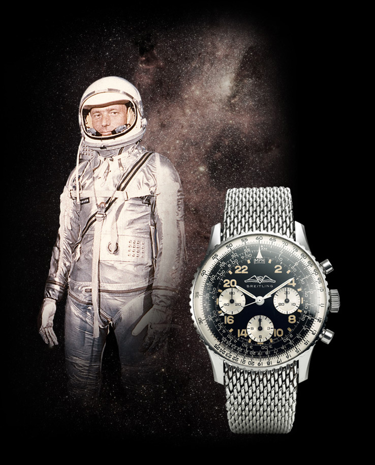 Breitling Navitimer part of the Space Conquest History