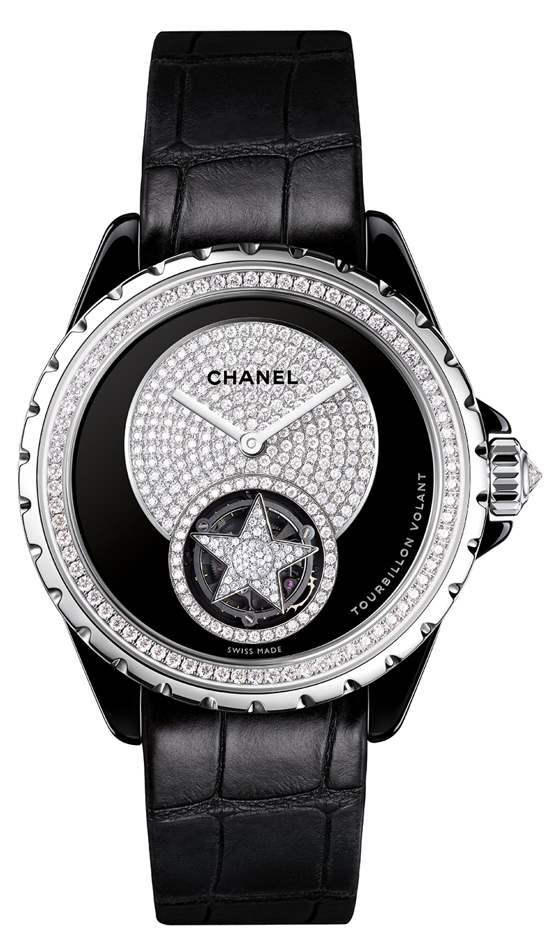 Chanel J12 Black Dial Flying Tourbillon