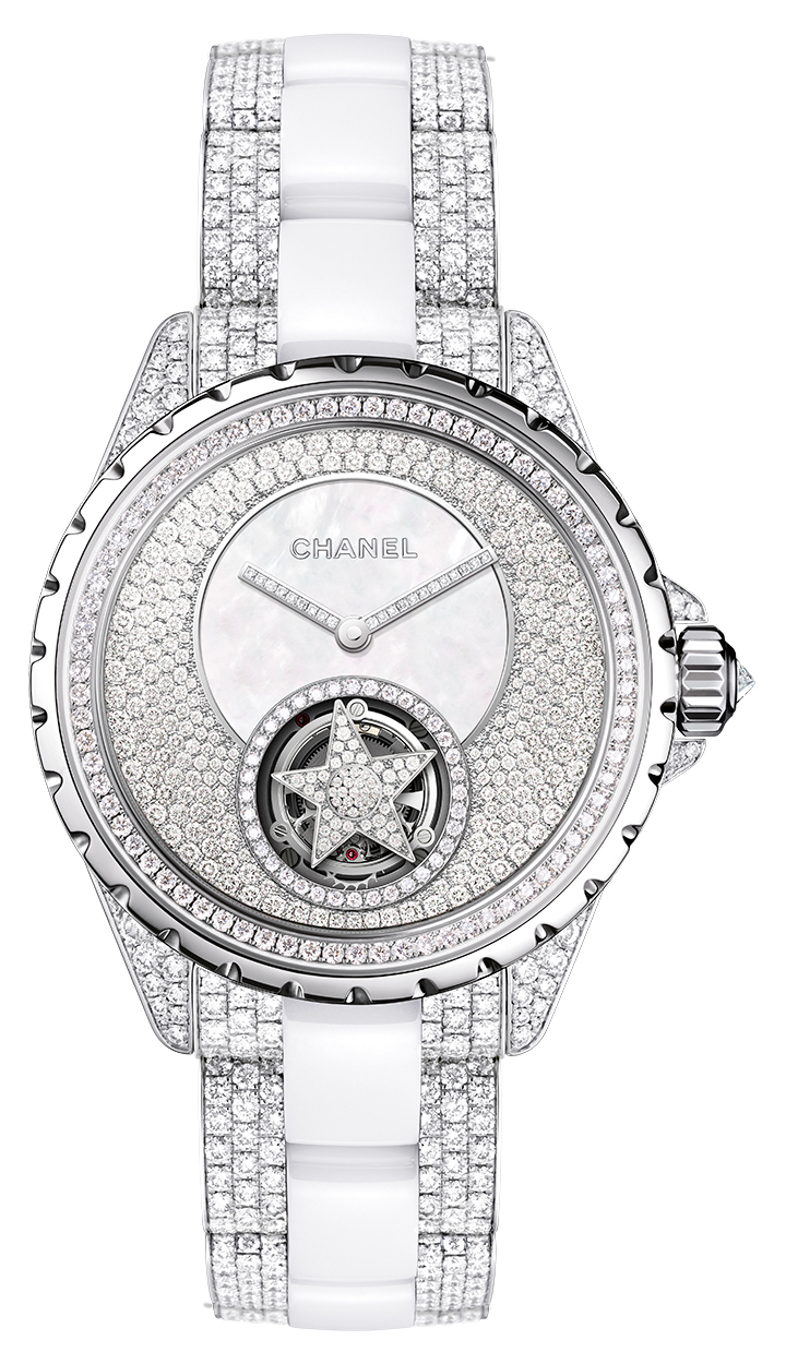 Chanel J12 Flying Tourbillon (Haute Joaillerie)