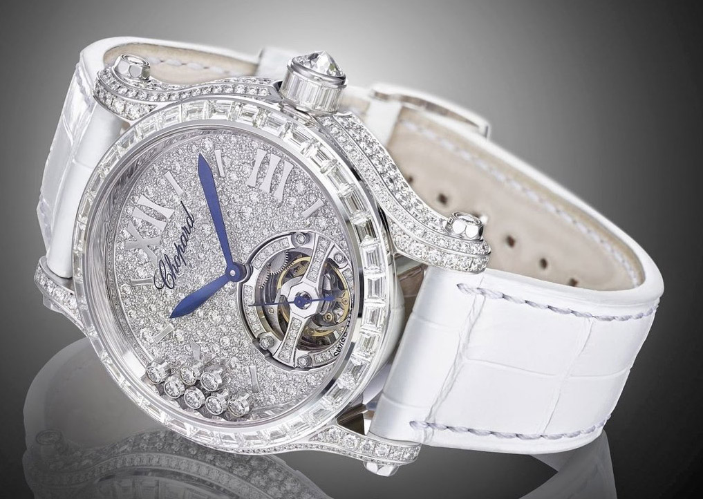 Chopard Happy Sport Tourbillon Joaillerie