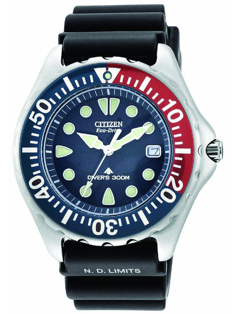 Citizen Eco-Drive Pepsi Diver