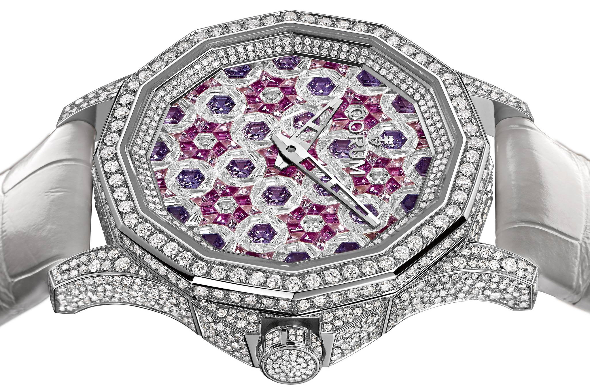 Corum Admiral's Cup Diamonds and Sapphires