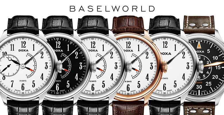 Doxa 8 Day Manufacture - Baselworld 2014