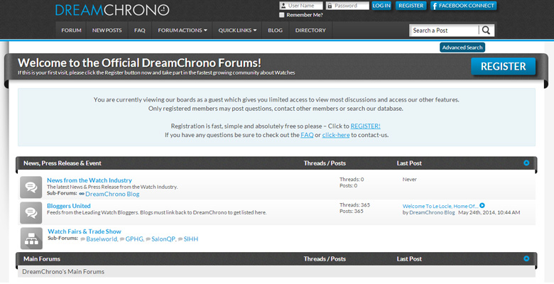 Join the great debate. Join the DreamChrono Watch Forum