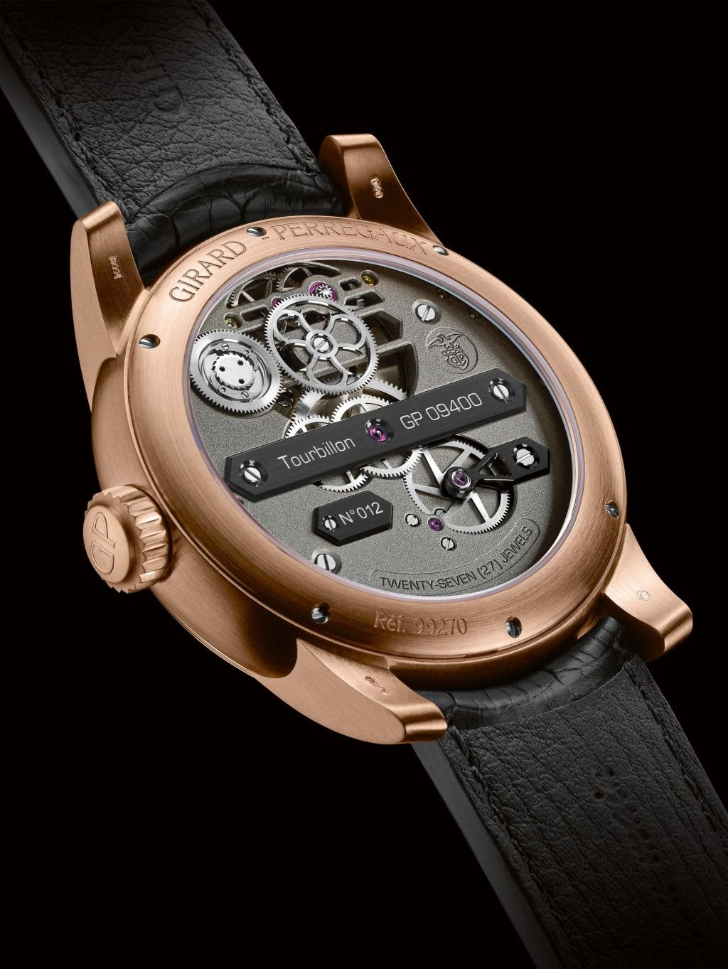Girard-Perregaux Neo Tourbillon Three Bridges - Caseback