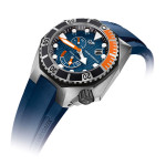 Girard-Perregaux Sea Hawk Blue & Orange