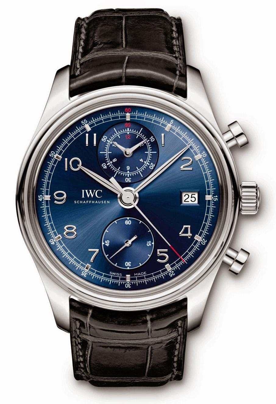 IWC Portuguese Chronograph Classic Edition Laureus Sport