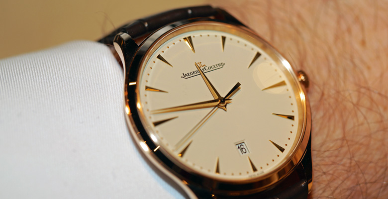 e5d893e7448f5 Jaeger-LeCoultre Master Ultra Thin Date Hands-On