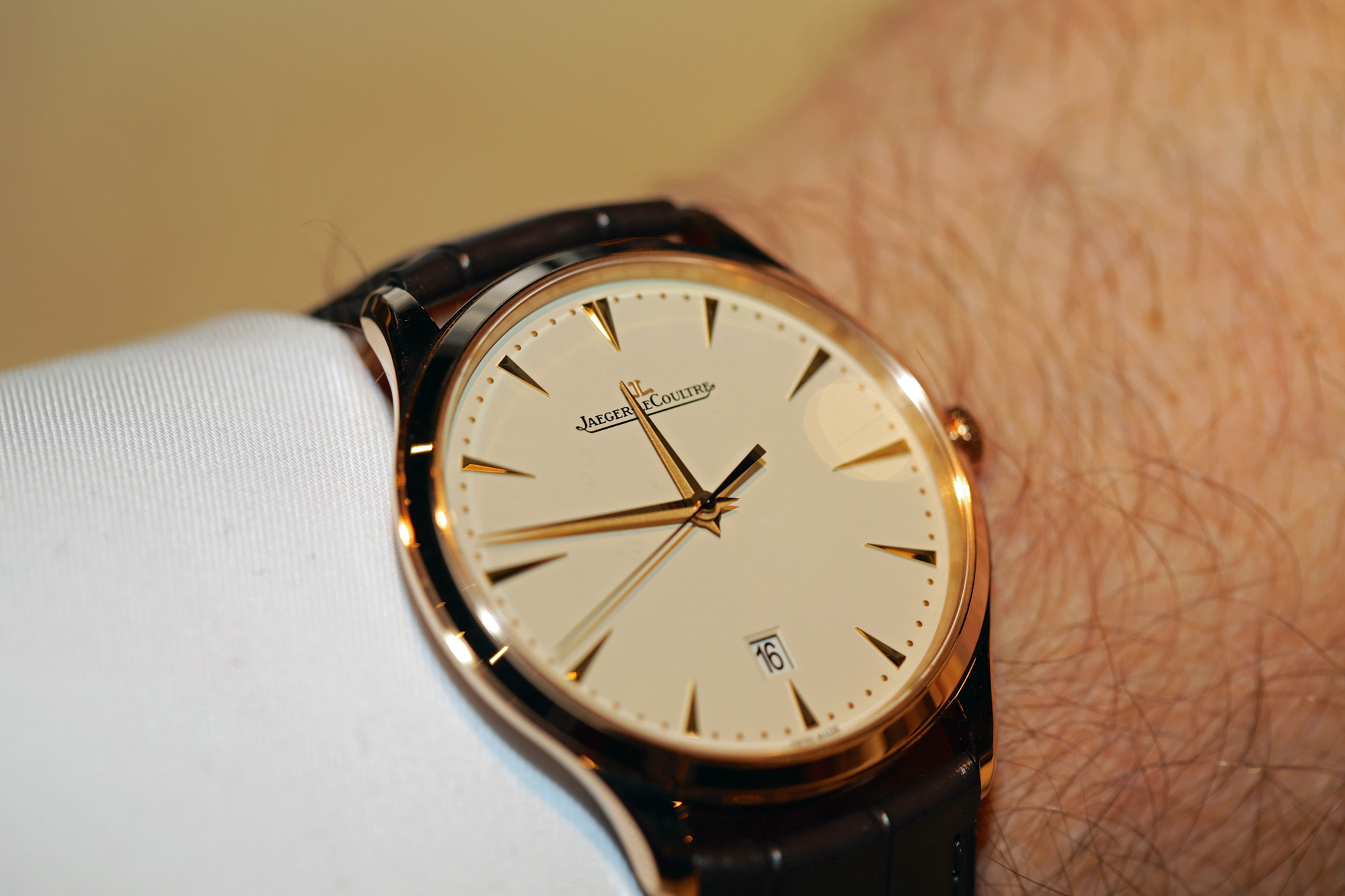 Jaeger-LeCoultre Master Ultra Thin Date – Technical Specification