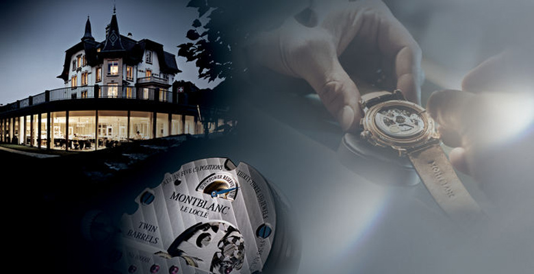 Welcome to Le Locle, home of Montblanc