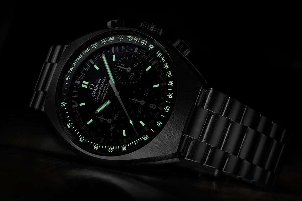 Omega Speedmaster Mark II - Green Lume