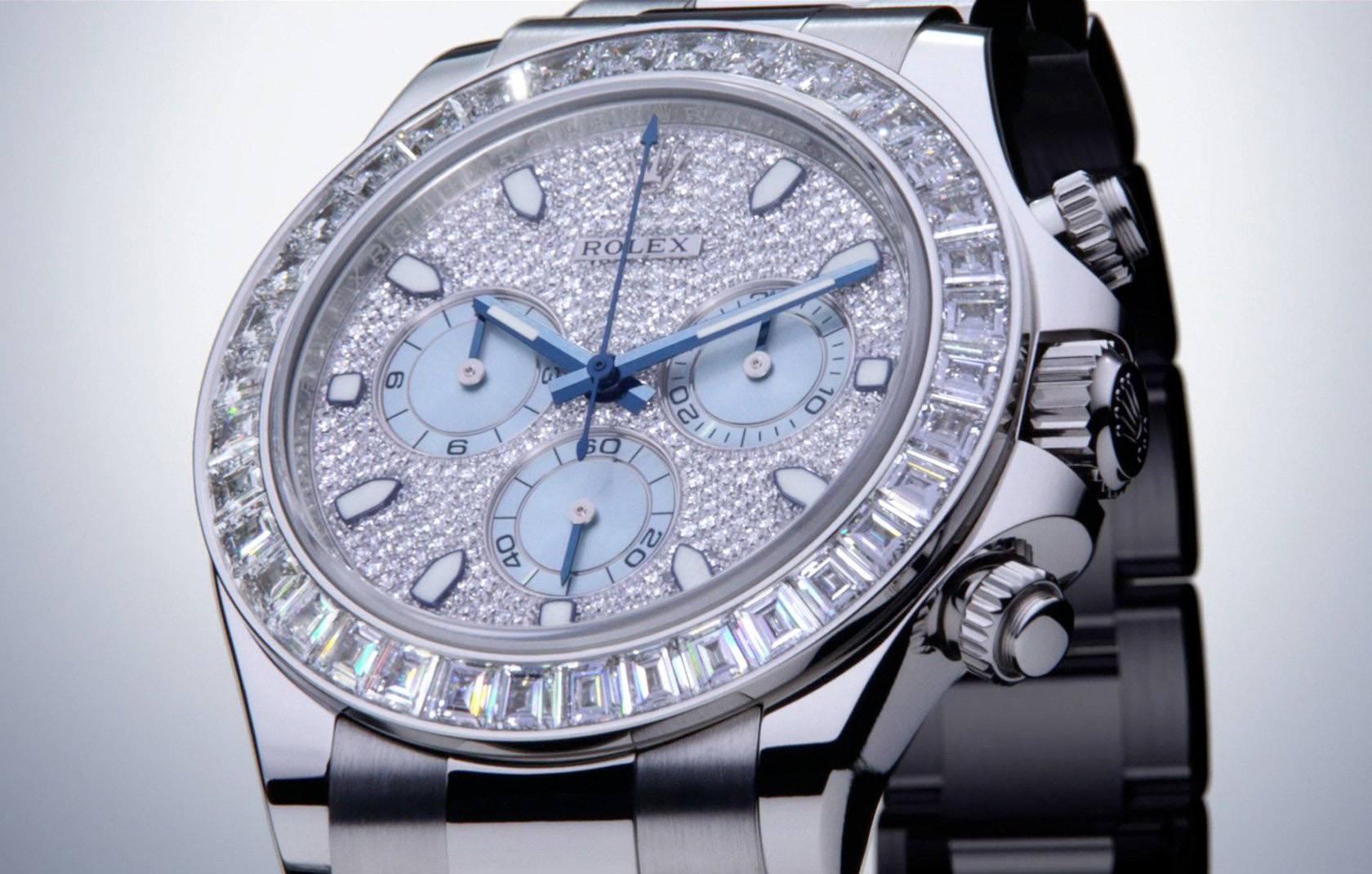 Rolex Cosmograph Daytona Platinum Diamond edition