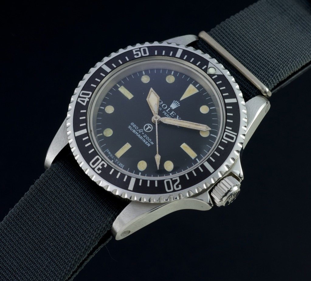 Rolex Military Submariner 5513 ( Credits © Bob Watches )