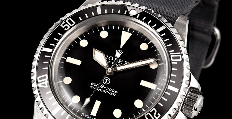 A Collectors Dream - The Rolex Military Submariner 5513