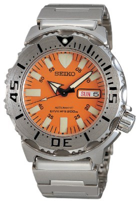 Seiko Orange Monster Watch