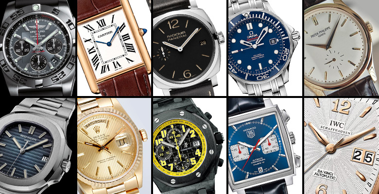 Ten Essential Luxury Watches