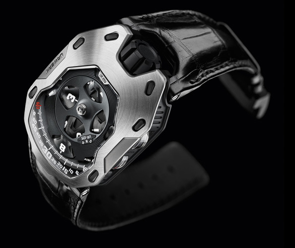 "Urwerk UR-105M ""Iron Knight"""