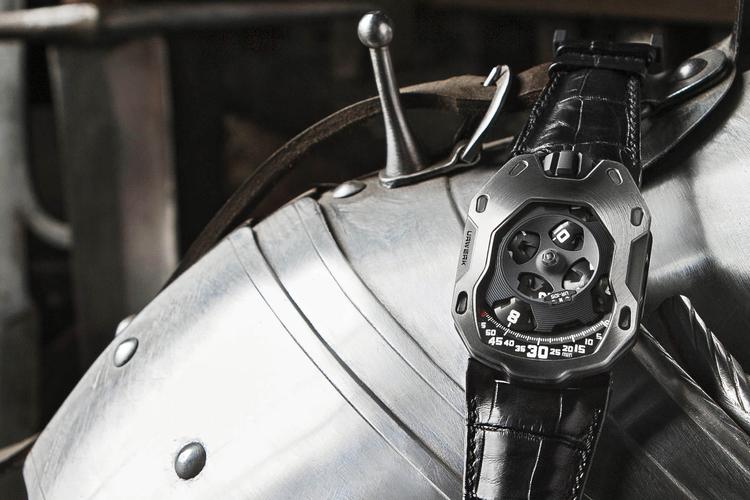 """Urwerk UR-105M """"Iron Knight"""""""