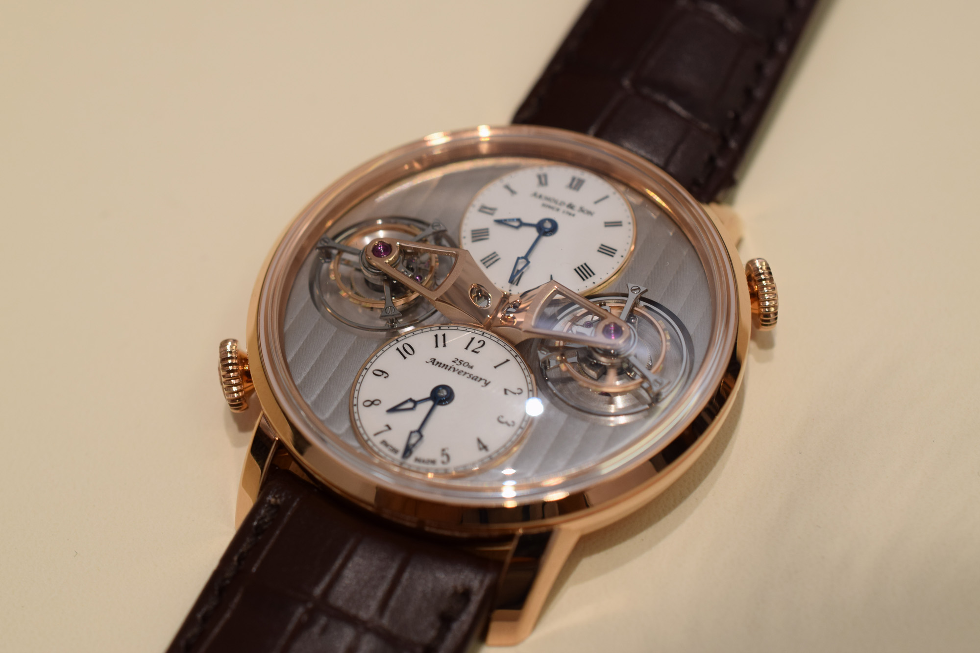 Arnold & Son Double Tourbillon Escapement