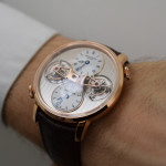 Arnold & Son Double Tourbillon Escapement - Wristshot