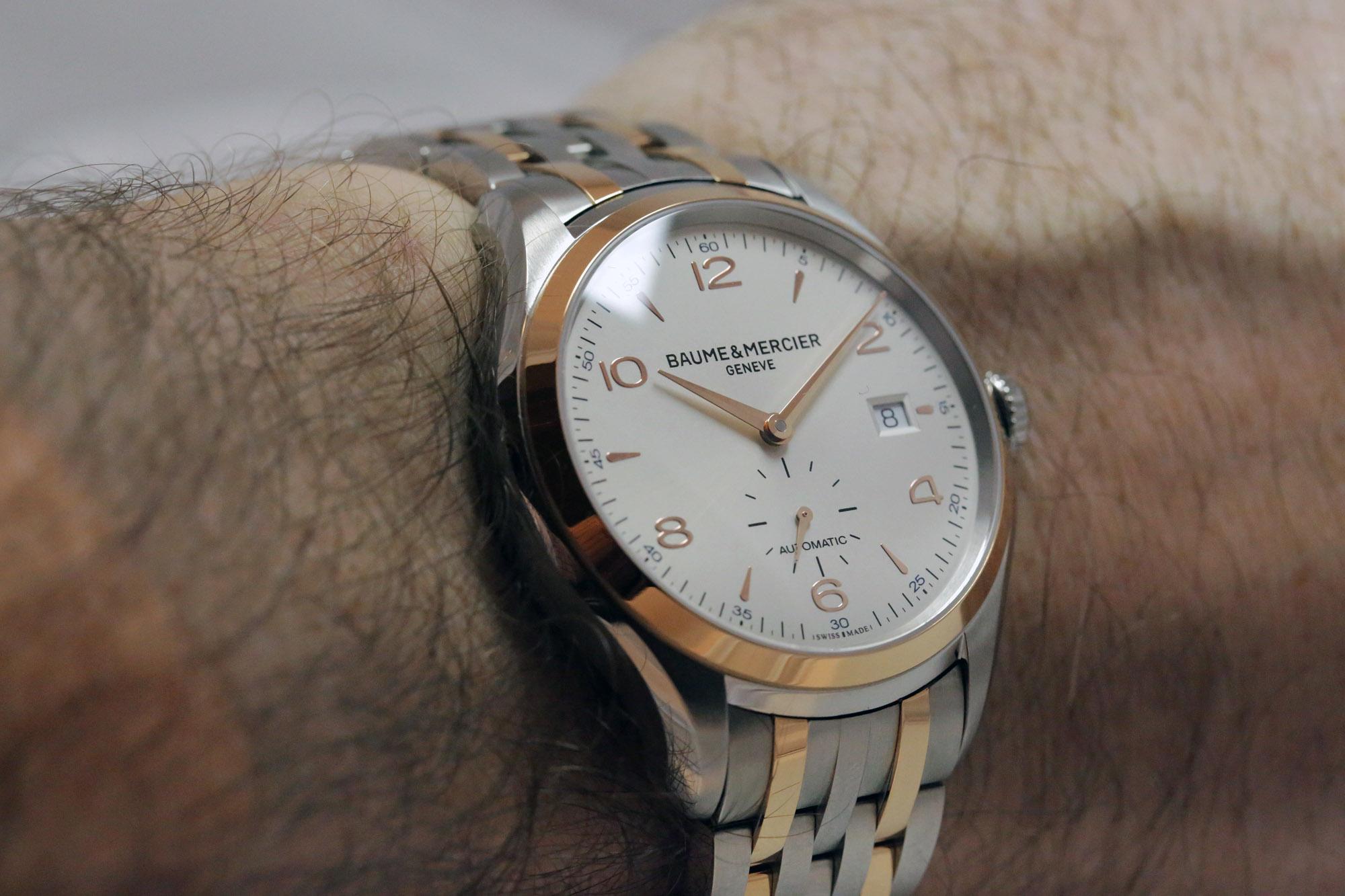 Baume & Mercier Clifton Ref. 10140 - Wristshot