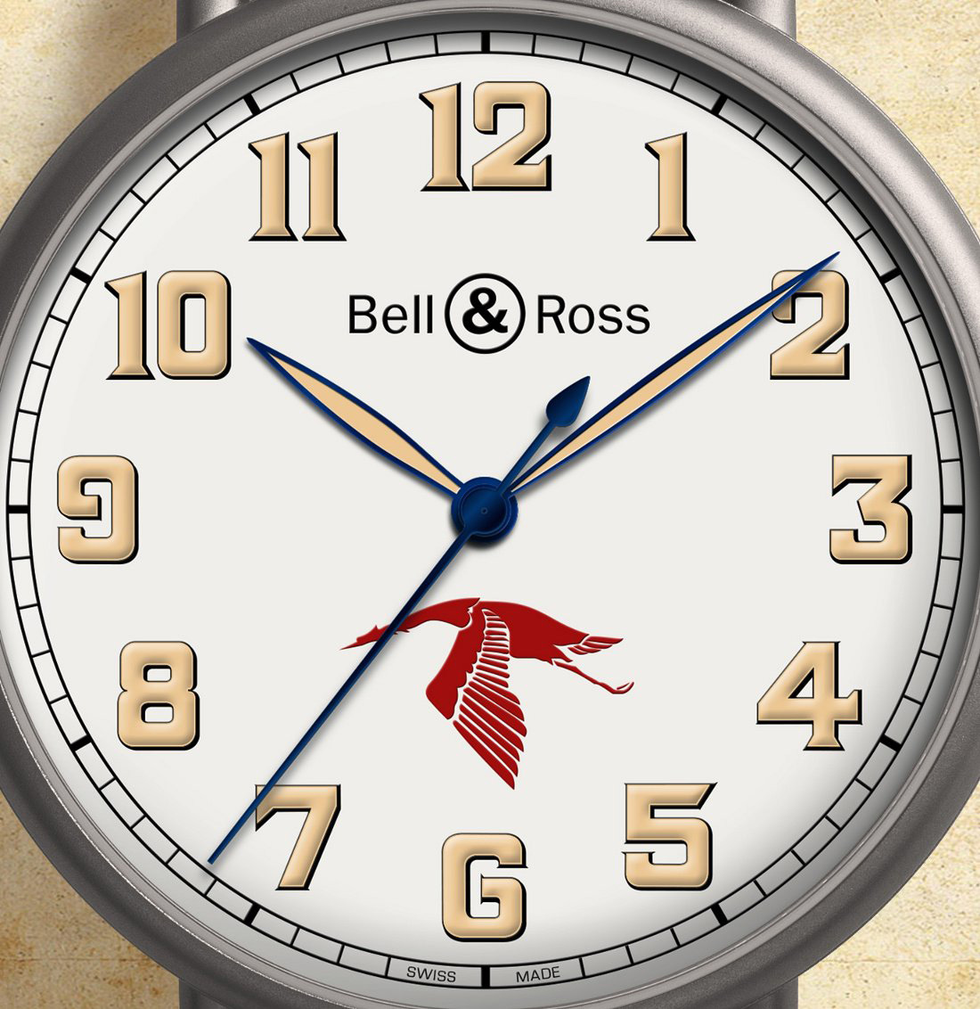 Bell & Ross Vintage WW1 Guynemer - Dial